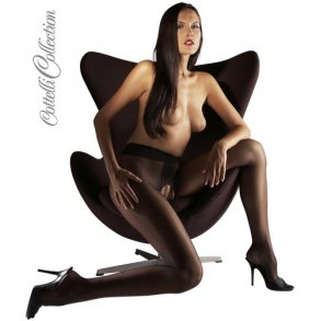 sex i sort strømpebukser
